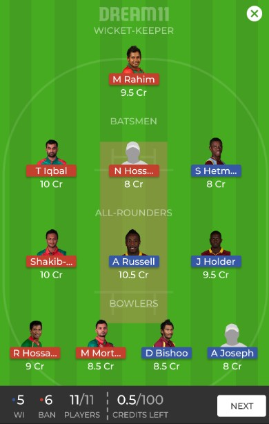 Blog 230 - Dream 11 - 3